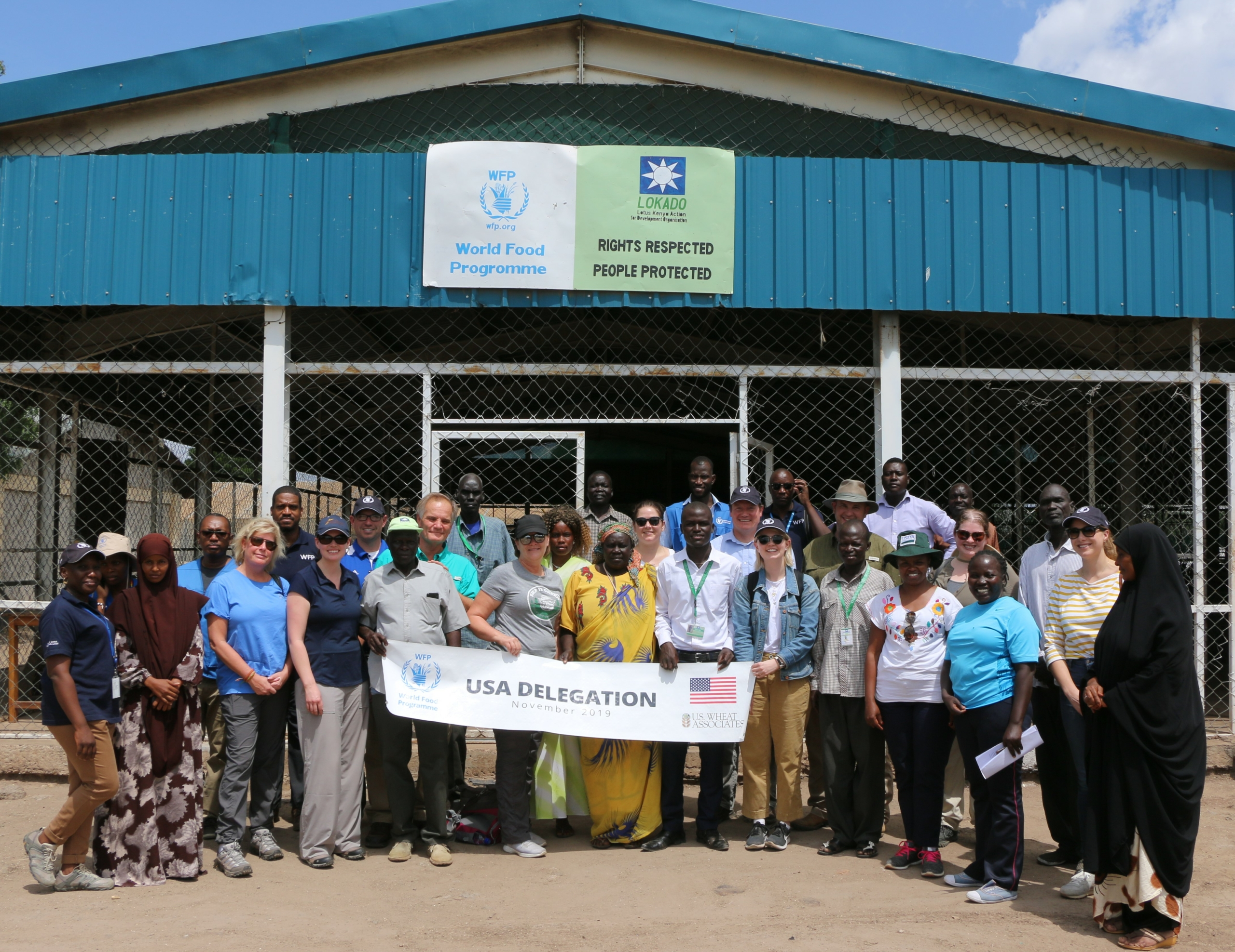 U.S. farmers traveled to East Africa to learn about global food security and food aid programs.