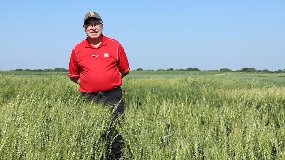 P. Stephen Baenziger, UNL wheat breeder