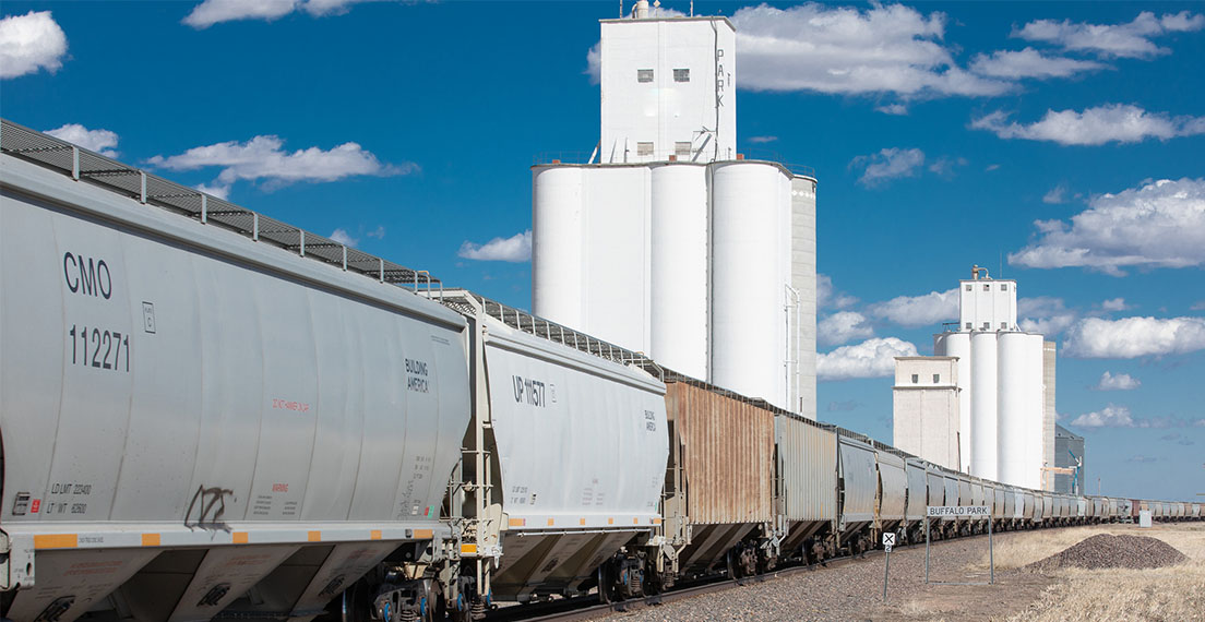 U.S. wheat export system starts at country elevators.