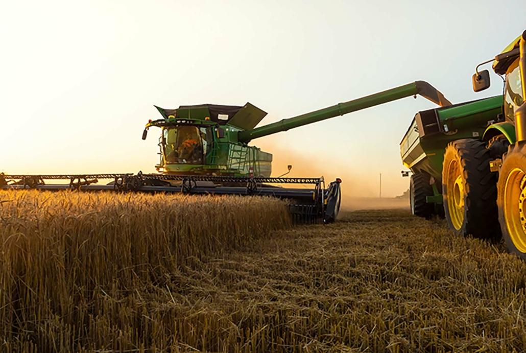 2021 U.S. Hard Red Winter harvest in Oklahoma